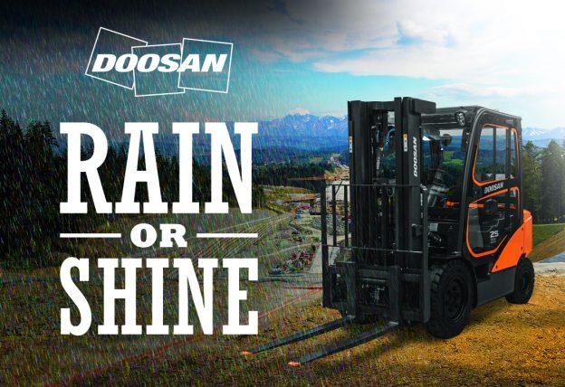 Rain or shine - Doosan Sport Cab
